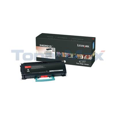 LEXMARK X463DE TONER CART BLACK 9K